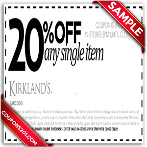 Kirklands free coupons