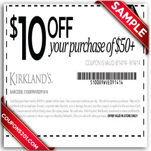 Kirklands free printable coupons for free