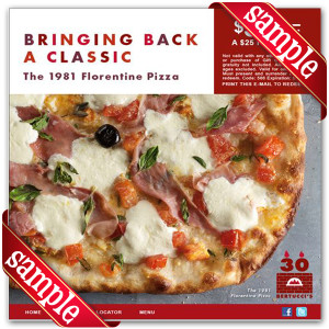 Latest Bertuccis Coupon For 2014