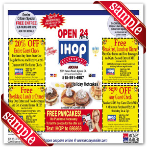 Latest Ihop Coupon For 2016