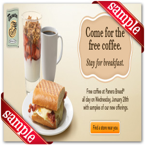 Latest Panera Bread Coupon for 2014