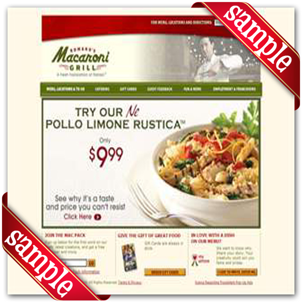 Macaroni grill coupon code