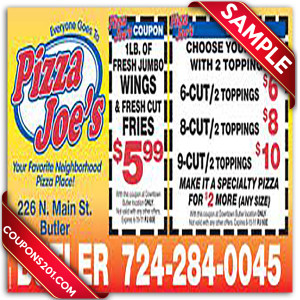 Pizza Joes Coupon