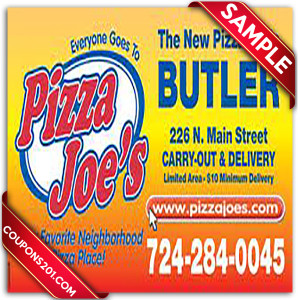 Pizza Joes Coupons