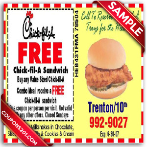 Printable Chick-Fil-A Coupons