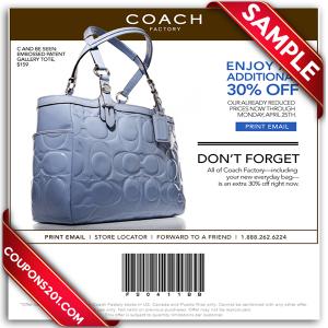 Printable Coupon Coach
