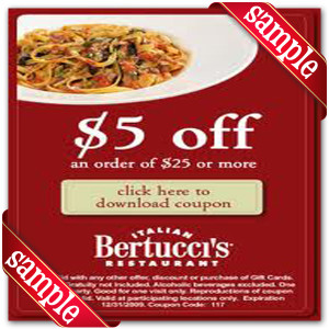 Printable Coupons For Bertuccis