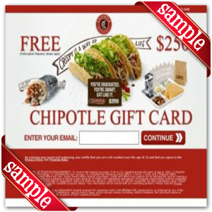 Printable Coupons For Chipotle Mexican Grill