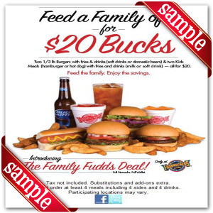 Printable Coupons For Fuddruckers