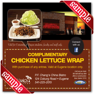 Printable Coupons for P.F. Changs