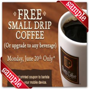 Printable Coupons for Peet's Coffee & Tea
