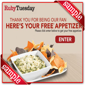 Printable Coupons for Ruby Tuesday