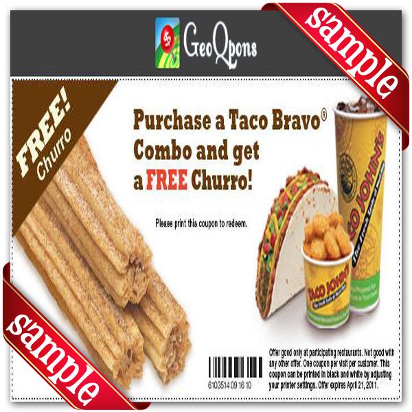 Taco coupons