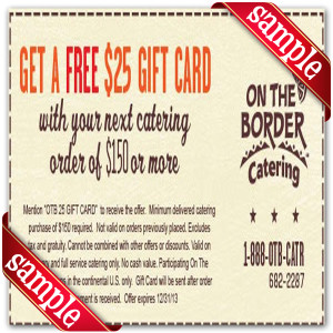 one the border coupons