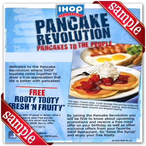 Printable Ihop Coupons