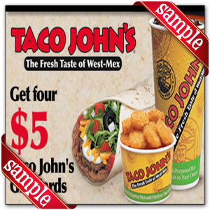 Printable Taco John Coupons