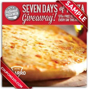 Sbarro coupons free