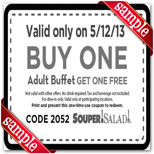 Souper Salad Coupon
