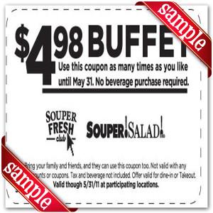Souper Salad Online Coupons