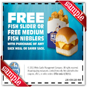 White Castle Coupon Promo