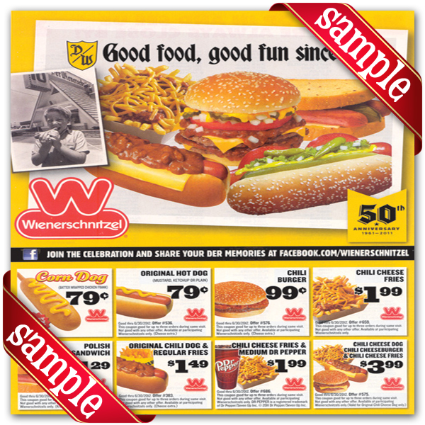 This is an image of Ridiculous Printable Wienerschnitzel Coupons