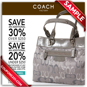 discount coupon for coach