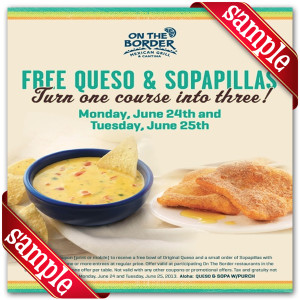 on the border Off Coupon 2016