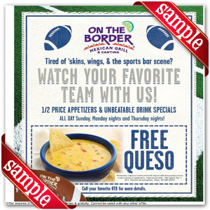 on the border Online Coupons