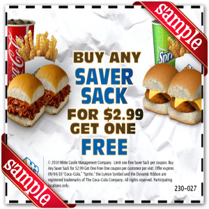 white castle 2.99 coupon