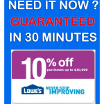 lowes coupons 10 off