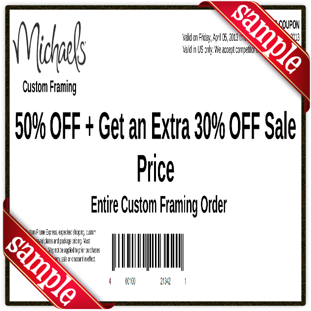 Micheals Free Printable Coupons