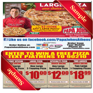Papa Johns Promotion Viator Las Vegas Tours