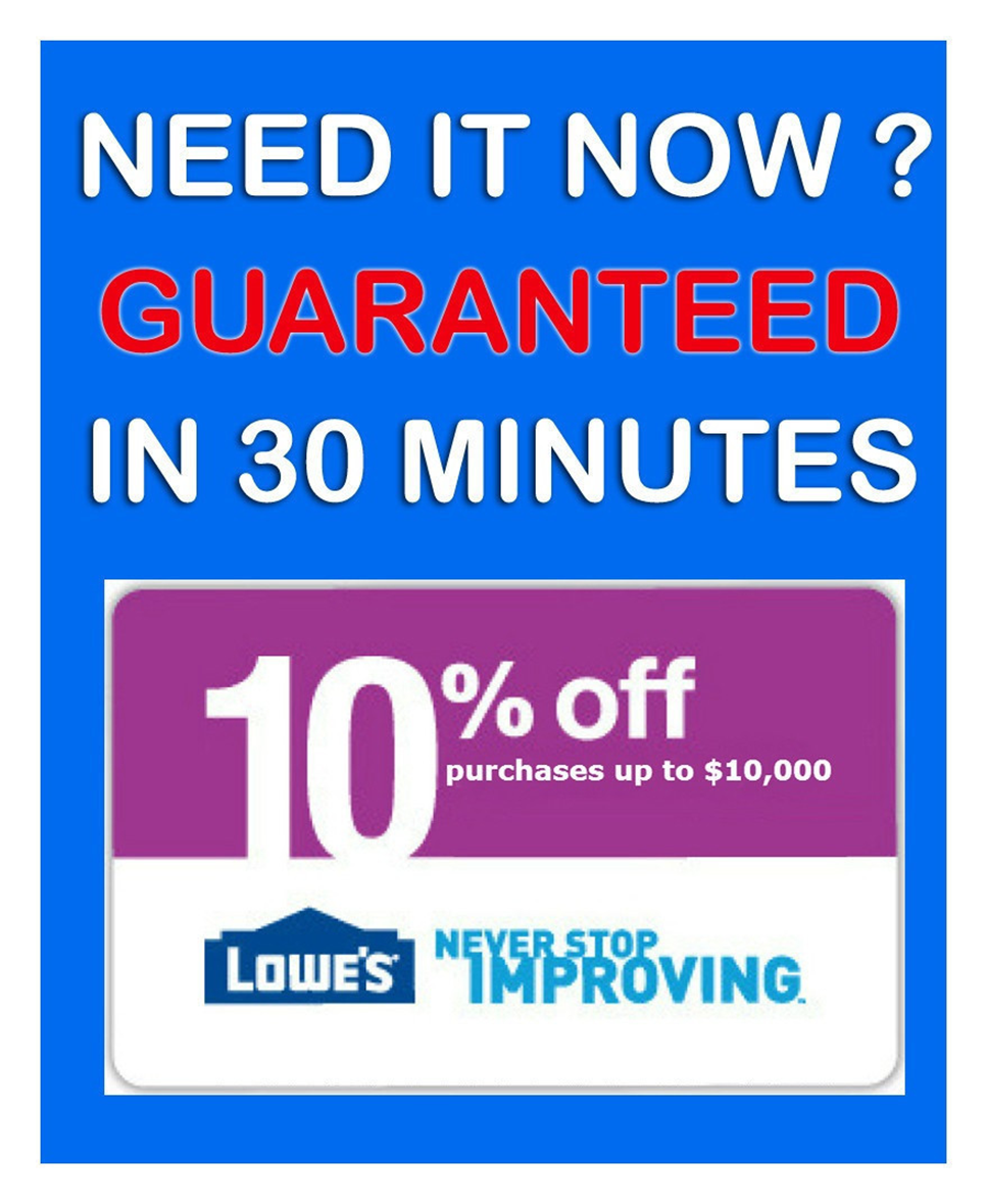 Lowes Coupon Code 10 Off 50 Northern ave boston